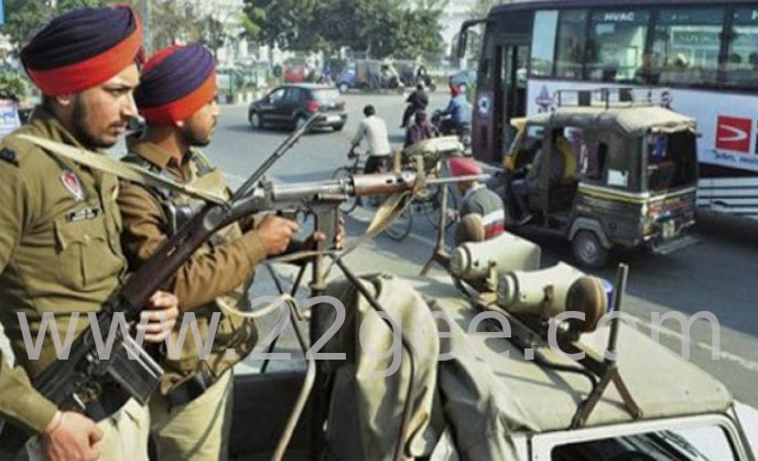 Gunman's death due to the shooting of AK-47